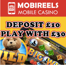 Play mobile slots in Mobireels Casino