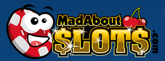 casino logo mad about slots
