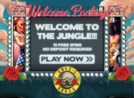 energy casino, 15 No Deposit Extra Spins on Guns N´ Roses Slot