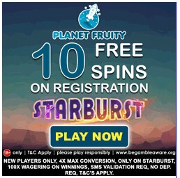 Planet Fruity Casino Bonus