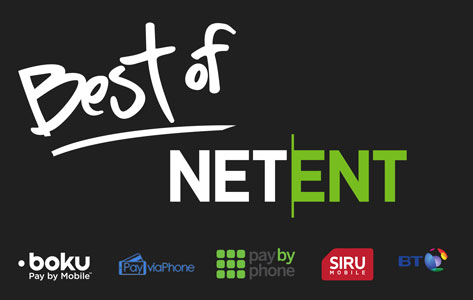 Best Pay By Phone Netent Casino