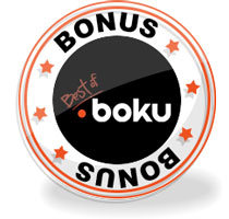 BEST BOKU CASINO BONUSES