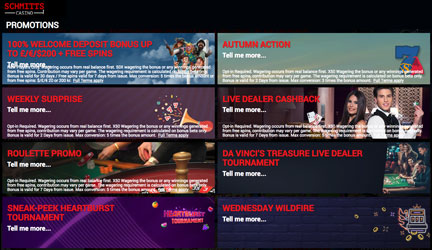 Schmitts Casino Promotions