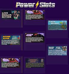 promotions power slots casino