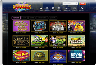 pay by phone casino dream palace casino