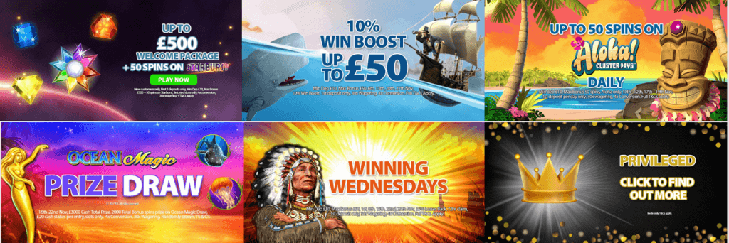 promotions cainfalls casino