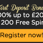 200 free spins for £10 in Casino Cruise