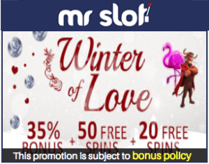 Winter of Love in Mr Slot Casino