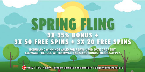 GemSlots CASINO APRIL 2018 PROMOTION