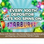 Pots of Luck Casino Lucky For Every 100th Depositor