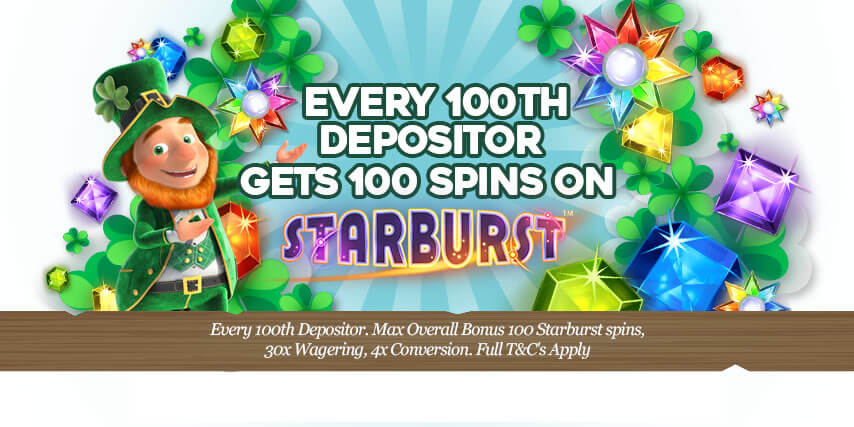 Pots of Luck Casino Lucky For Every 100thDepositor