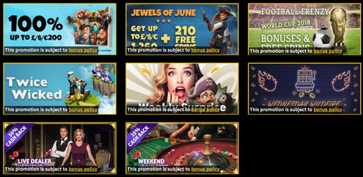 promotions sparkle slots casino