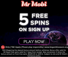 mr mobi casino NO DEPOSIT SPINS SEPTEMBER 2018