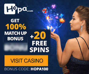 hopa casino TOP WELCOME BONUS SEPTEMBER 2018