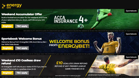 energy bet promotions