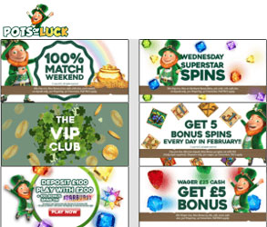 promotions pots of luck