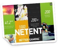NetEnt Premium Supplier of the Gaming System