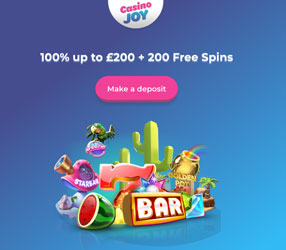 welcome bonus casino joy